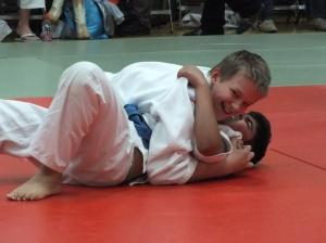 Loving the judo! And winning!