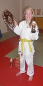 2013 Judo Excellence judo player of the year Isobel Kitchen